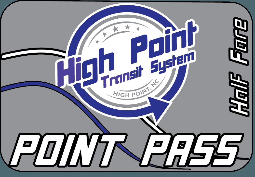 Point Pass - Tarjeta inteligente con medio pasaje para 30 día(s)